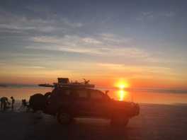 4WD sunset Cable Beach